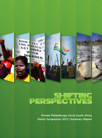 Shifting Perspectives. PPC Donor Symposium. (2012)