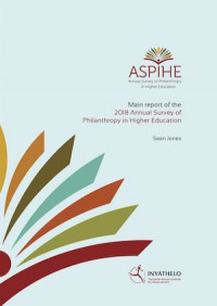 2018 Annual Survey of Philanthropy in Higher Education (ASPIHE) in South Africa.